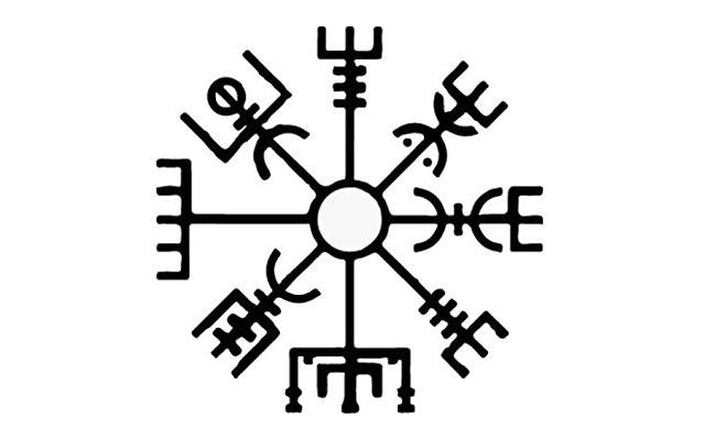 Símbolo vikingo Vegvísir