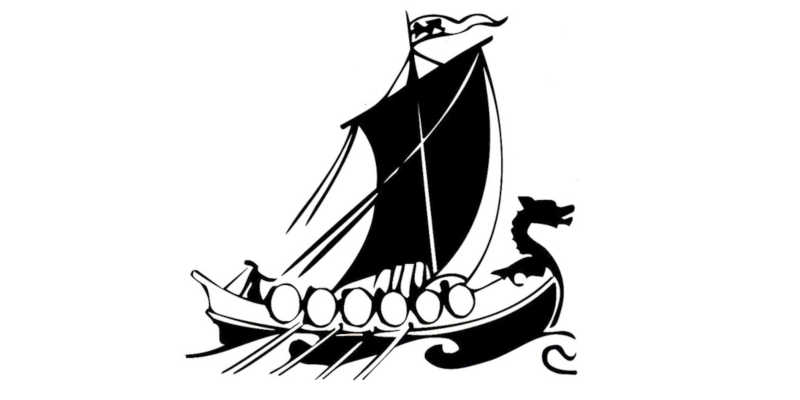 Barco vikingo Drakkar