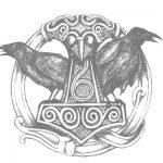 Cuervos Hugin y Munin