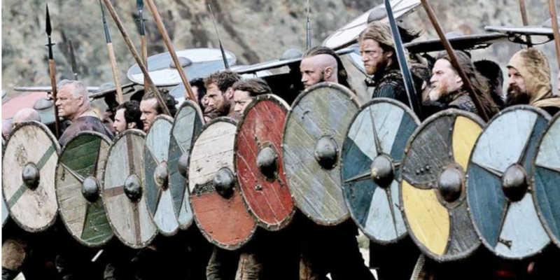 Formación de escudos en la serie Vikingos wikipedia