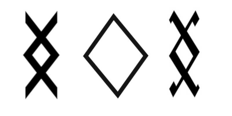 Las representaciones de la runa Inguz arcano aracanos wikipedia horóspoco nórdico significado de was