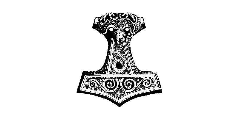 Martillo de Thor o Mjolnir Wikipedia