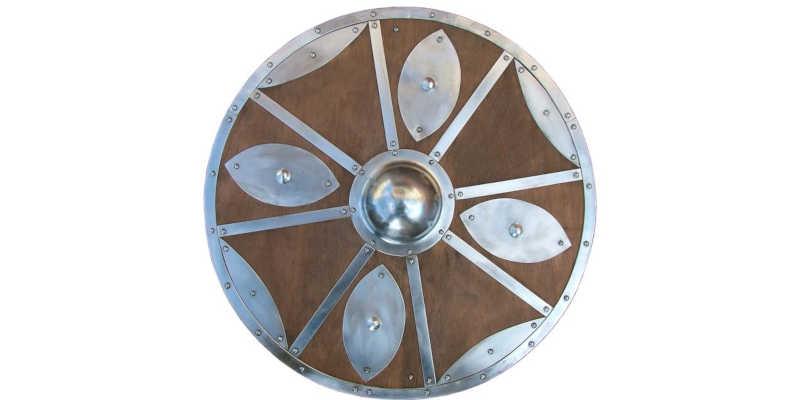 Recreación de escudo Vikingo