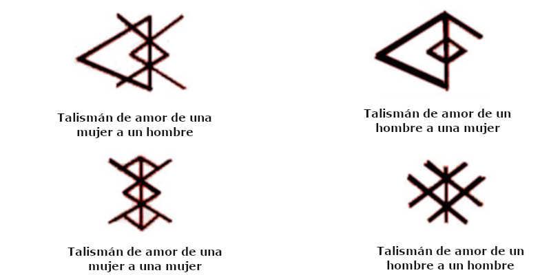 Runas vikingas para tatuajes de amor