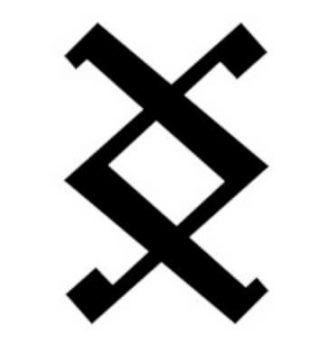 Símbolo vikingo Inguz