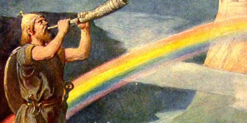 Dios nórdico Heimdal En buenas manos Tarot Gratis El Arcano blog tarot canal