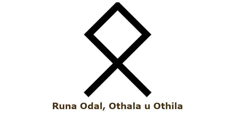 Runa Odal, Othala u Othila En buenas manos Tarot Gratis El Arcano blog tarot canal