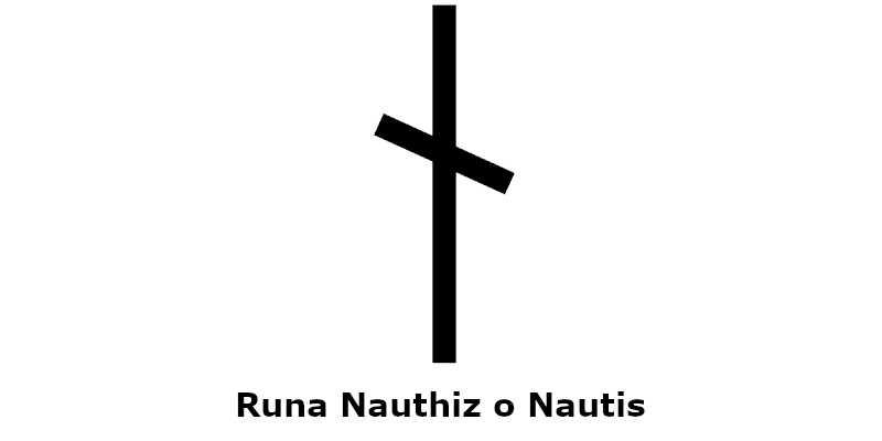Runa Vikinga Nauthiz