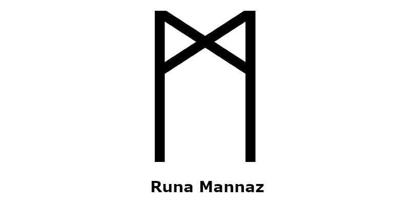 Runa Vikinga Mannaz